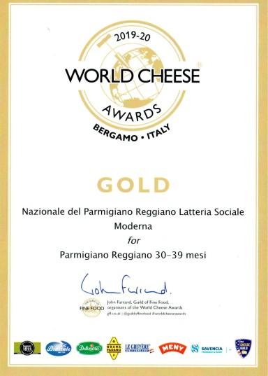 world cheese award 30-39