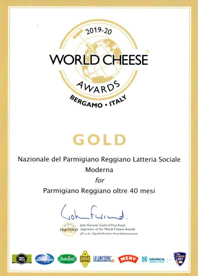 world cheese award over 40
